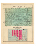 1903, Township 21 North, Range 29 West, Cherokee City, Pea Ridge, Buttry P.O., Pippin P.O., Arkansa Giclee Print