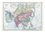 1873, Asia Giclee Print