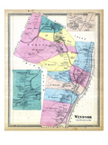 1869, Windsor, Poquonnock, Rainbow, Connecticut, United States Giclee Print