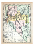 1890, United States, Nevada, North America, Nevada Giclee Print