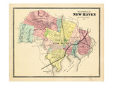 1868, New Haven, Connecticut, United States Giclee Print