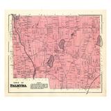 1883, Palmyra Town, Maine, United States Giclee Print
