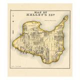 1874, Kelley's Island, Ohio, United States Giclee Print