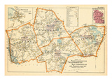1898, Northborough, Westborough, Southborough, Shrewsbury, Fayville, Massachusetts, United States Giclee Print