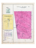 1903, Township 20 North, Range 34 West, Rome City, Maysville, Mason Valley P.O., Osage Mills P.O. Giclee Print