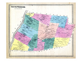 1869, South Windsor, Connecticut, United States Giclee Print