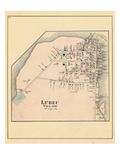 1881, Lubec Village, Maine, United States Giclee Print
