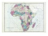 1873, Africa Giclee Print