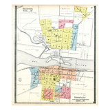 1903, Bristol and Yorkville, Illinois, United States Giclee Print