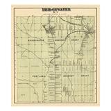 1877, Bridgewater, Maine, United States Giclee Print