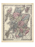 1855, Scotland Giclee Print