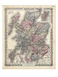1855, Scotland Giclee Print