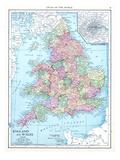 1913, United Kingdom, Europe, England and Wales Giclee Print
