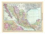 1913, Mexico, Central America Giclee Print