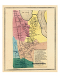 1869, Wetherfield, Connecticut, United States Giclee Print