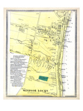 1869, Windsor Locks Town, Connecticut, United States Giclee Print