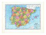 1925, Portugal, Spain, Europe Giclee Print