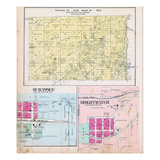 1903, Township 21 North, Range 30 West, Rago P.O., Pea Ridge, Hi Wassee, Brightwater, Arkansas, Uni Giclee Print
