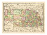1913, United States, Nebraska, North America Giclée-Druck