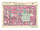 1939, Rittenhouse Square, Philadelphia, Pennsylvania, United States Giclee Print