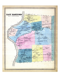 1869, Hartford East, Connecticut, United States Giclee Print
