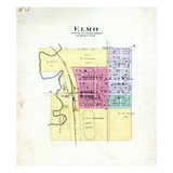 1893, Elmo, Missouri, United States Giclee Print