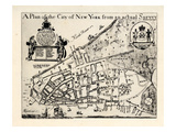 Manhattan 1728 Giclee Print