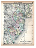 1890, United States, New Jersey, North America Giclee Print