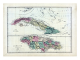 1873, Cuba, Jamaica Giclee Print
