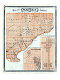 1876, Warren County, Williamsport, West Lebanon, Indiana, United States Giclee Print