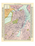 191x, Boston 1910, Massachusetts, United States Giclee Print