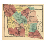 1873, Greene, Maine, United States Giclee Print