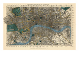 1860, England, London Stampa giclée