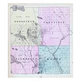 1881, Topsfield, Codyville, Talmadge, Waite, Maine, United States Giclee Print