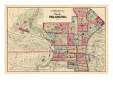 1875, Philadelphia, Pennsylvania, United States Giclee Print