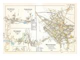 1898, Southville, Cordaville, Southboro, Westboro, Massachusetts, United States Giclee Print