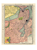 1901, Boston 1901, Massachusetts, United States Giclee Print