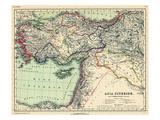 1898, 500 BC, Armenia, Syria, Turkey, Egypt, Asia, Africa Giclee Print