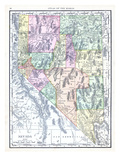 1913, United States, Nevada, North America, Nevada Giclee Print