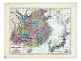 1873, China, Japan Giclee Print