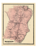 1871, Deerfield, Massachusetts, United States Giclee Print