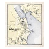 1881, Millbridge, Maine, United States Giclee Print