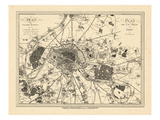 1805, France, Paris Giclee Print