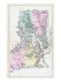 1881, Pembroke, Perry, Trescott, Lubec, Maine, United States Giclee Print