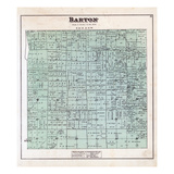 1880, Barton Township, Michigan, United States Giclee Print