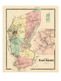 1868, East Haven, Connecticut, United States Giclee Print