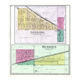 1892, Leonore, Meriden, Illinois, United States Giclee Print