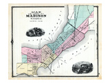 1881, Madison, Wisconsin, United States Giclee Print