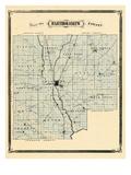 1876, Bartholomew County, Indiana, United States Giclee Print