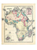 1876, Africa Giclee Print